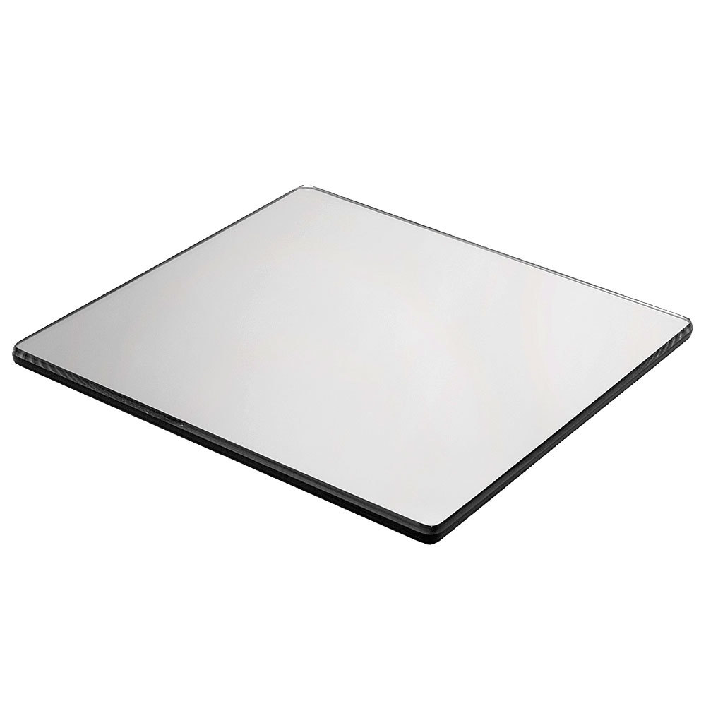 "Cal-Mil 411-12 12"" Square Mirror Tray"
