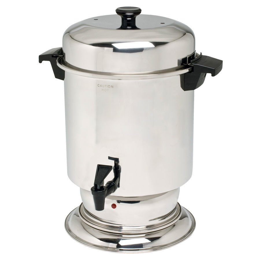 Regalware K1355 55 Cup (2.2 Gallon) Stainless Steel Coffee Urn