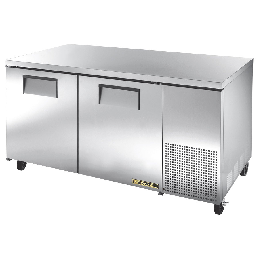 True TUC-67F 67 inch Deep Undercounter Freezer with Two Doors