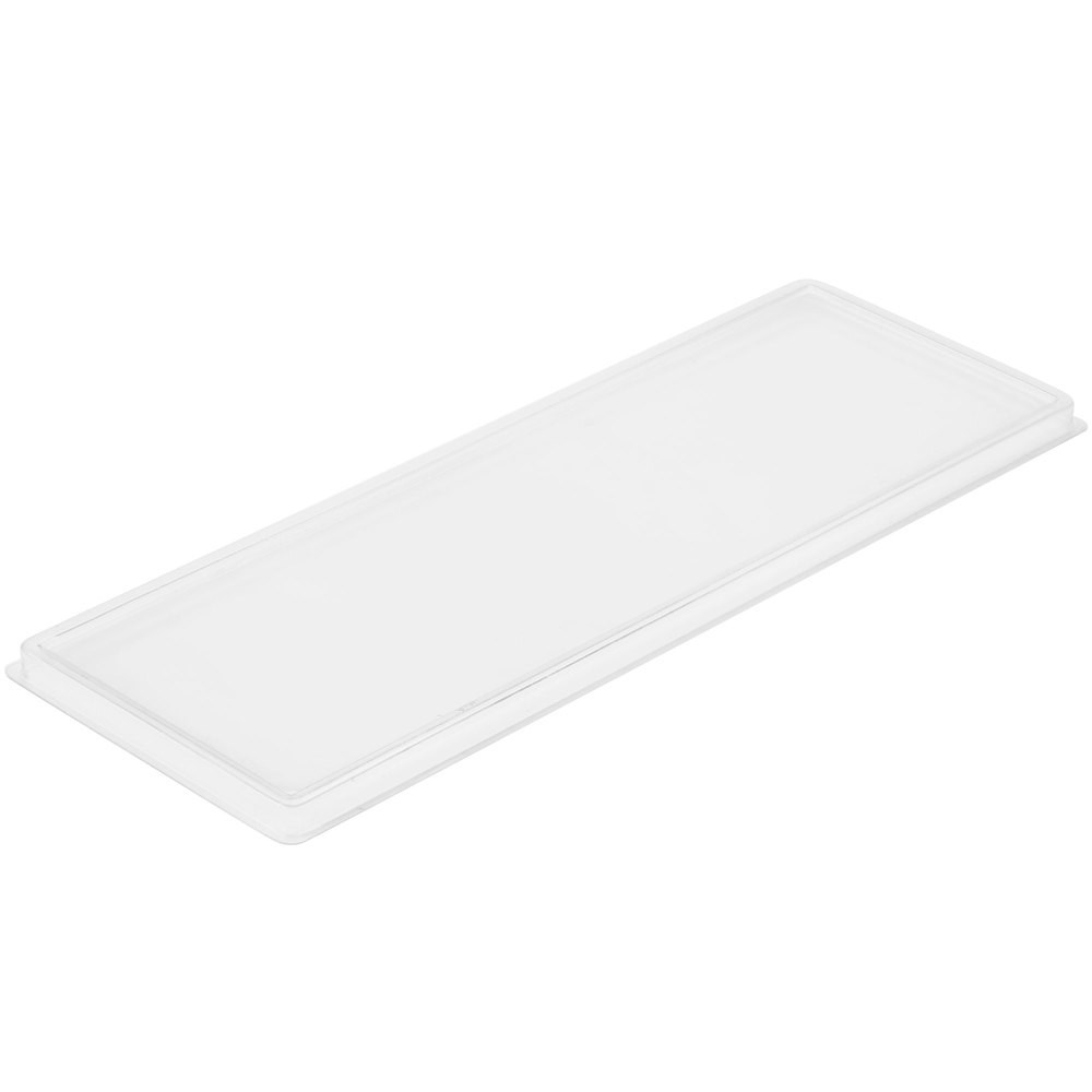 "Cal-Mil 1397-LID Cater Choice Lid for Melamine Boxes - 7"" x 20"""