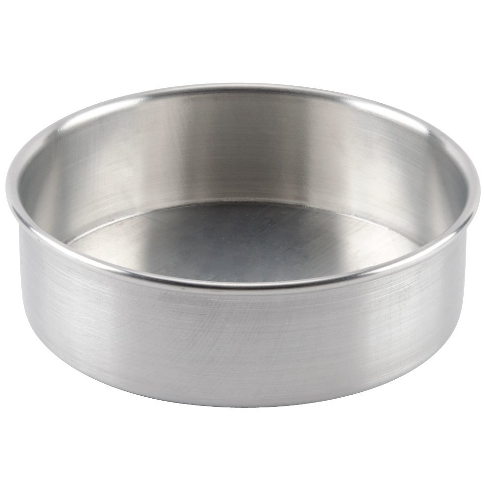 "8"" x 2"" Aluminum Removable Bottom Cake Pan"