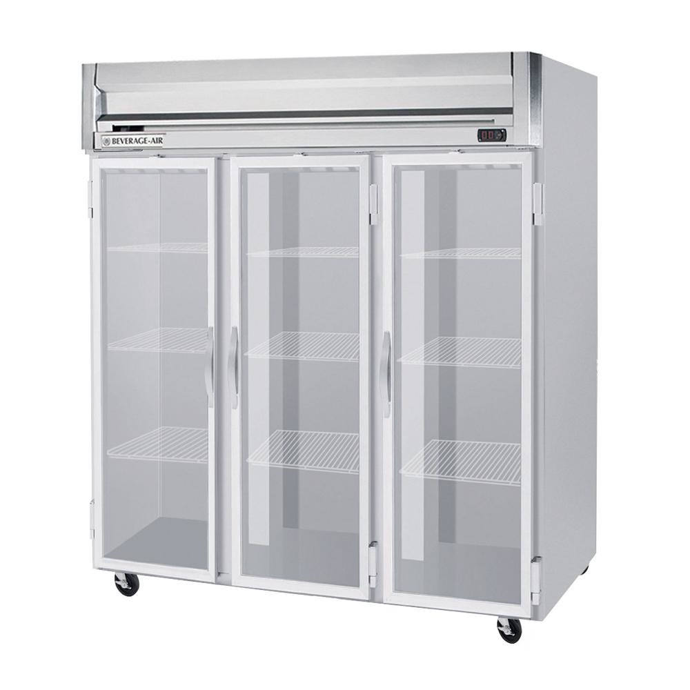 Beverage Air Hf3 5g Led Horizon Series 78 Glass Door Reach In