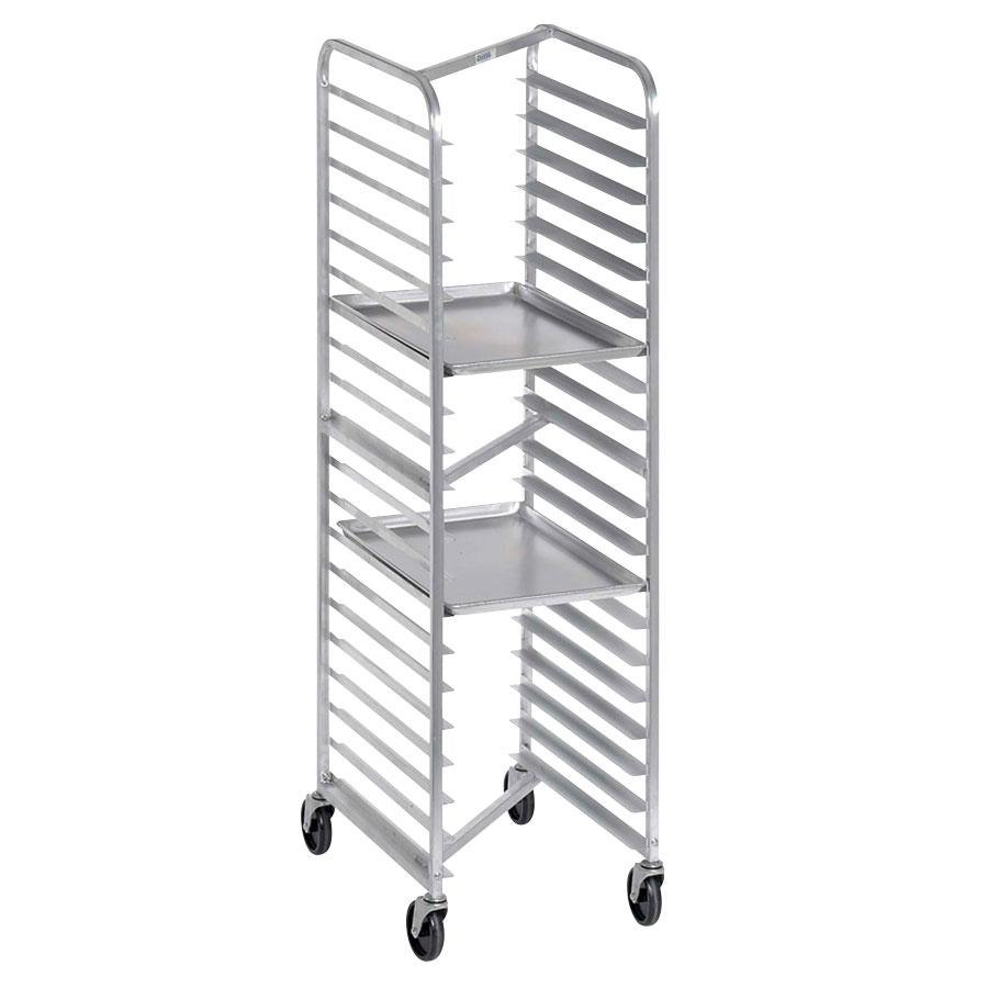 Channel 401AN Mobile Nesting End Load Bun Pan Rack (20 Pan Capacity)