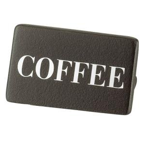 Cal Mil 606-1-96 Midnight Coffee Beverage Sign - 3 inch x 1 inch x 2 inch