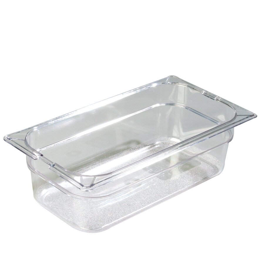 Carlisle 1026107 TopNotch 1/3 Size 4 inch Deep Food Pan - Clear