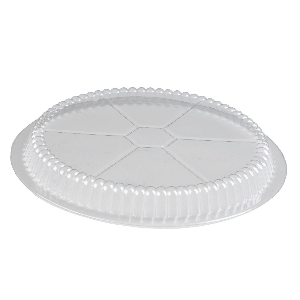 Choice 9 inch Plastic Dome Lid 500 / Case