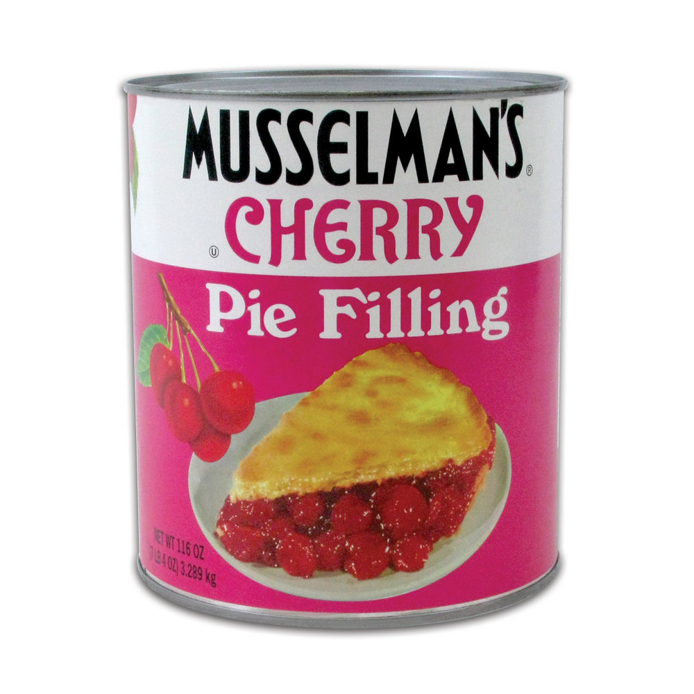 Musselman's Cherry Pie Filling - #10 Can