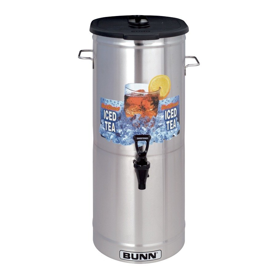 Bunn TDO-5 5 Gallon Iced Tea Dispenser with Brew-Through Lid (Bunn 34100.0003)