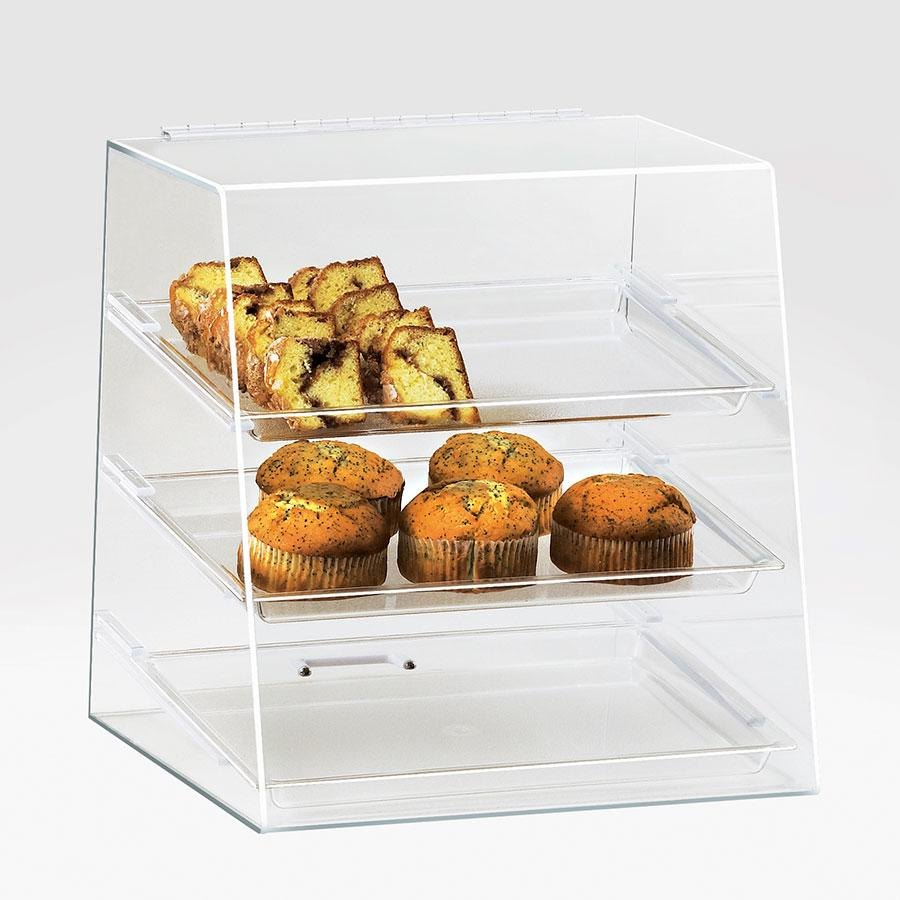 Cal Mil 261 Three Tier Classic Display Case 15 1/2 inch x 15 inch x 16 inch