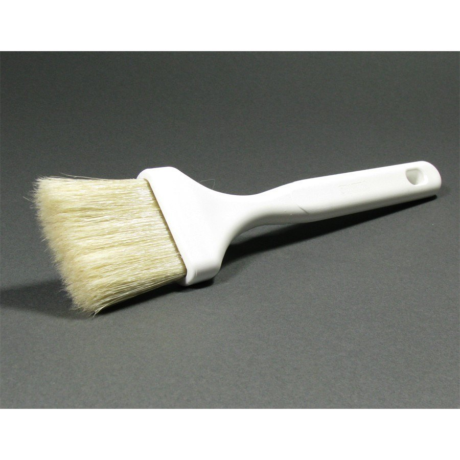 Carlisle 4037800 2 inch Boar Bristle Pastry Brush with Hook