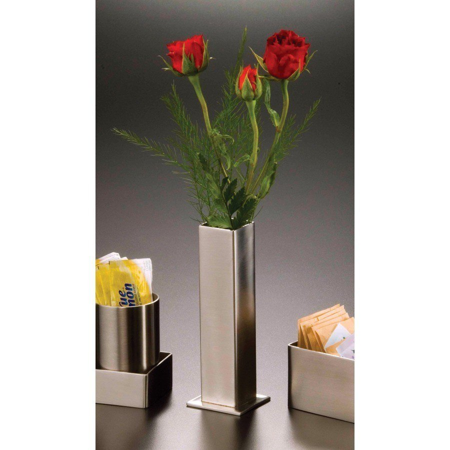 American Metalcraft SSBV1 Stainless Steel Bud Vase with Satin Finish