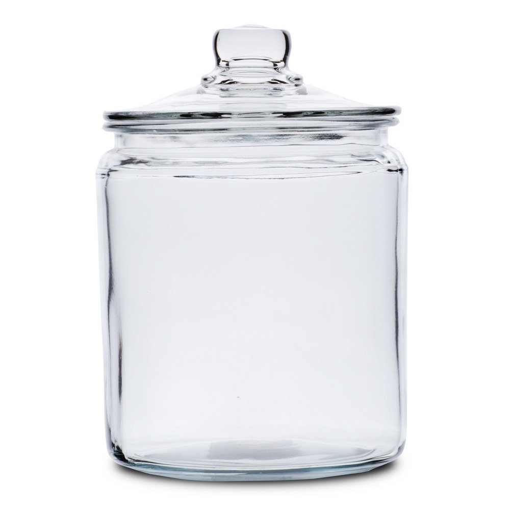 Simple and practical, the Classic Medium Glass Jar is perfect for adding stylish functionality to your bathroom. Great for storing Q-tips, cotton balls, and more, this glass jar come with removable tops and features an oil rubbed bronze finish.