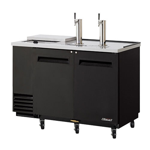 "Turbo Air Refrigeration Turbo Air TCB-2SB Black 59"" Club Top Beer Dispenser - 2 Kegs at Sears.com"