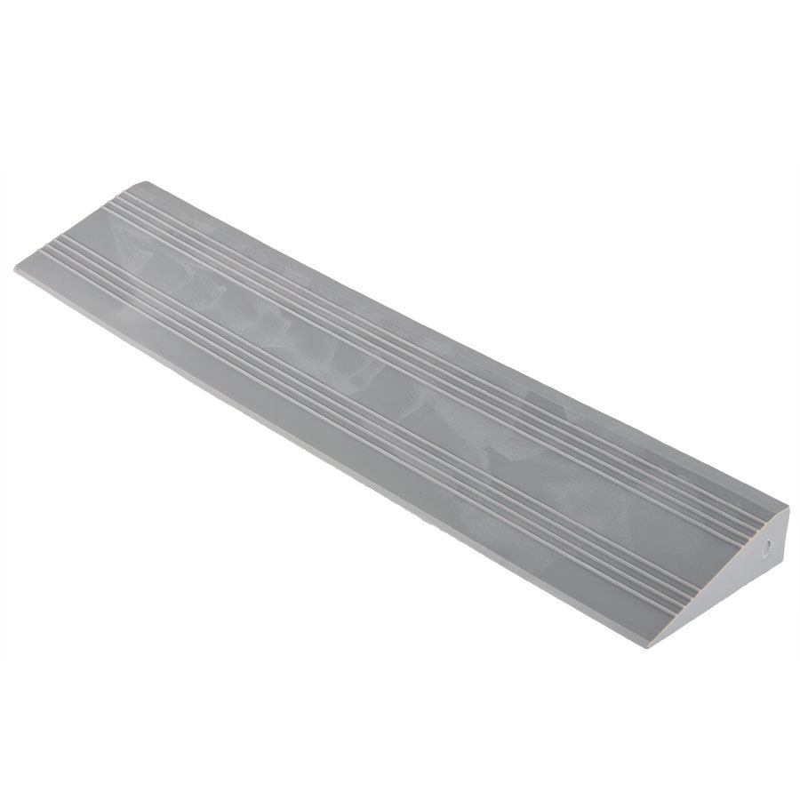 2 1 2 Quot X 12 Quot Gray Edge Ramp For Poly Lock Drainage Floor