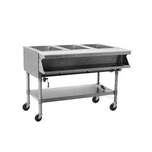 Eagle Group SPHT Portable Steam Table Two Pan Sealed Well V - 2 well steam table