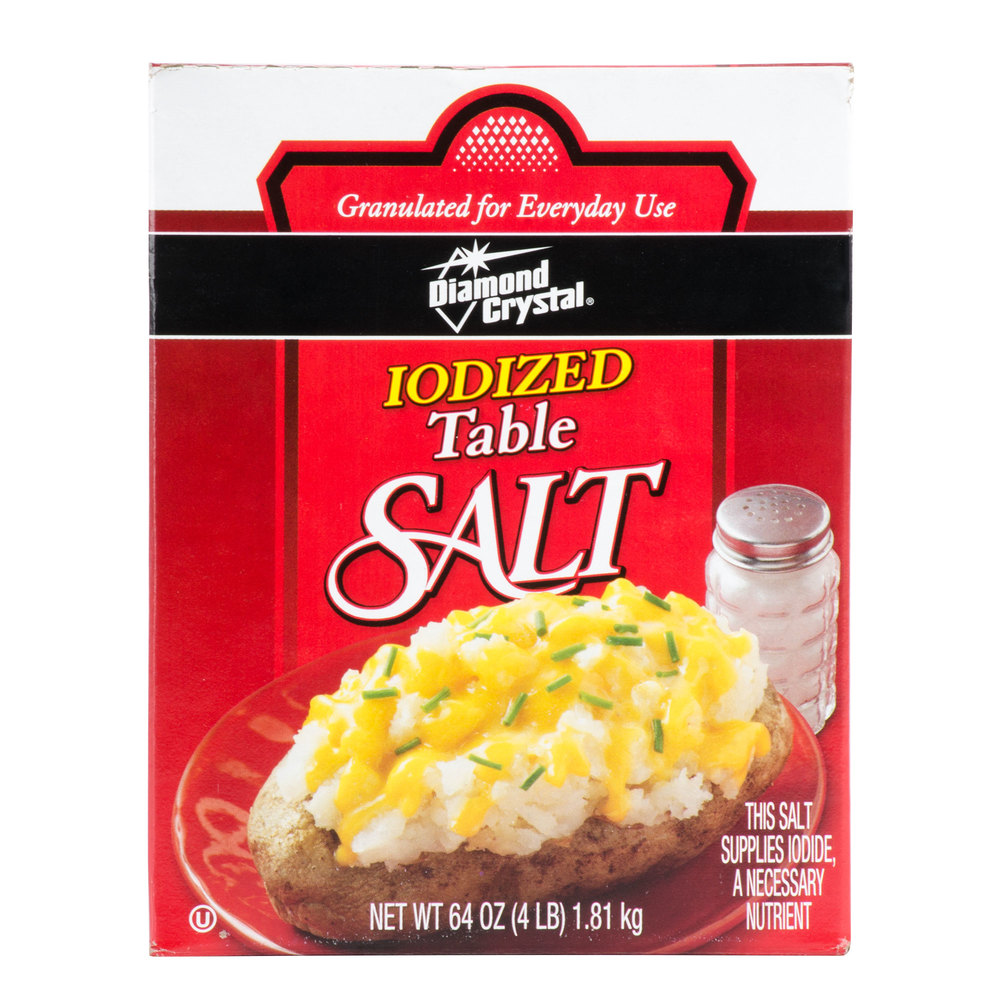 Bulk Iodized Table Salt - 4 lb.