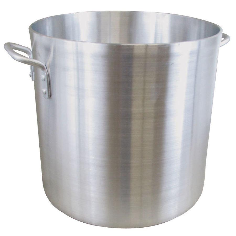 80 qt heavy weight aluminum stock pot. Black Bedroom Furniture Sets. Home Design Ideas