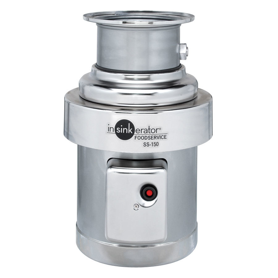 Insinkerator SS-150-34 Commercial Garbage Disposer - 1 1/2 hp, 1 Phase