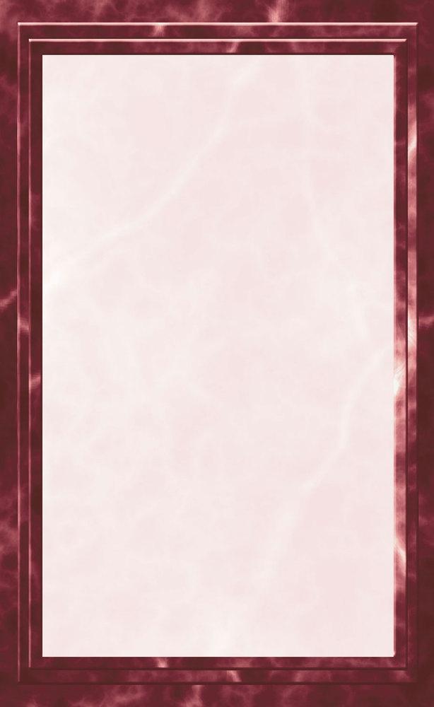 8 1 2 x 11 burgundy menu paper marble border 100 pack. Black Bedroom Furniture Sets. Home Design Ideas
