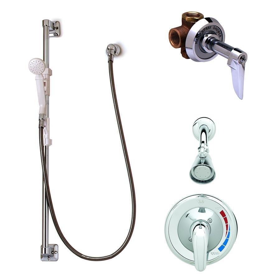 tu0026s b3206 shower package with b3201 pressure balance shower valve b1097 diverter valve