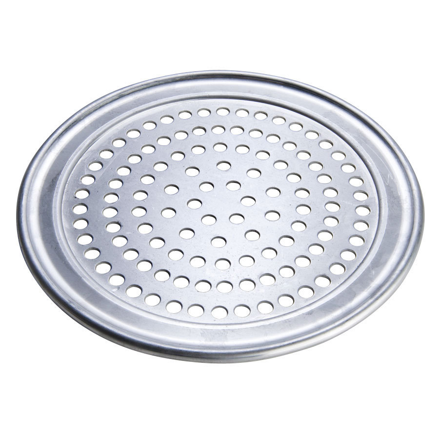 "American Metalcraft HATP10SP 10"" SuperPerforated Wide Rim Pizza Pan - Heavy Weight Aluminum at Sears.com"