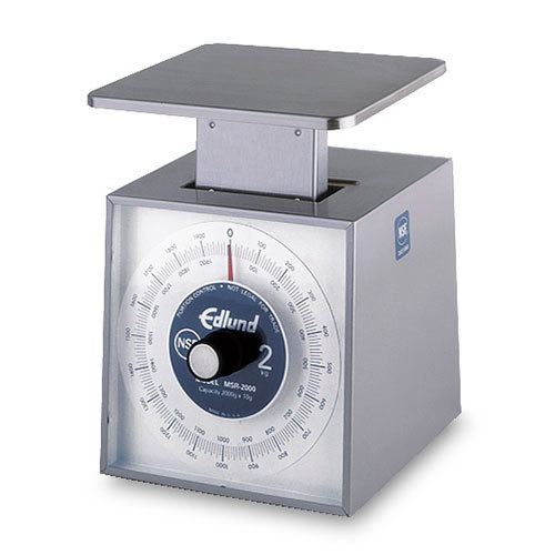 Edlund MSR-2000OP Stainless Steel Metric Portion Control Scale