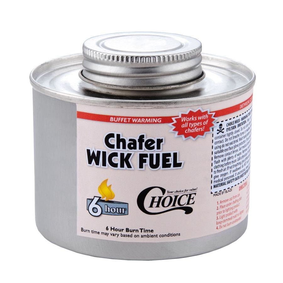 Choice Wick Chafing Fuel - 6 Hour - 24 / Case