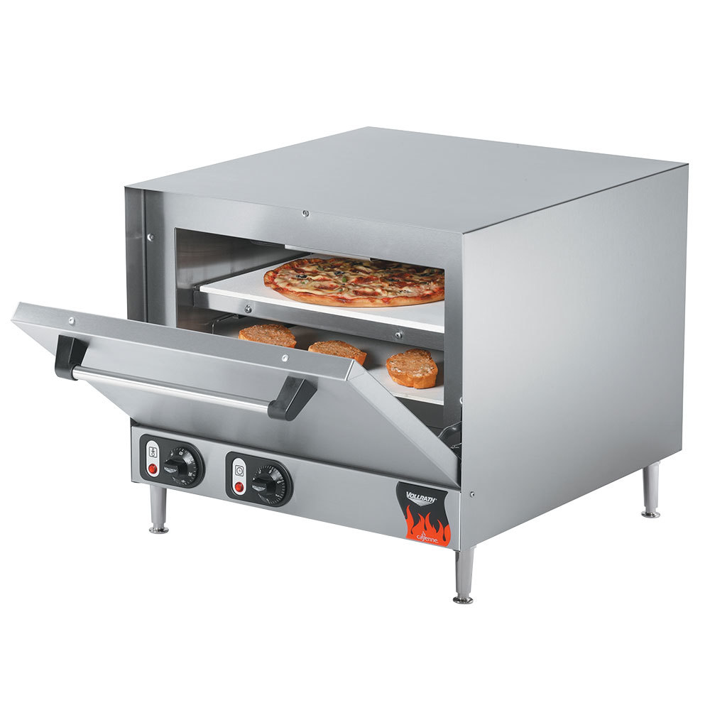 Vollrath 40848 Countertop Electric Pizza Oven with 2 Ceramic Decks 208 ...