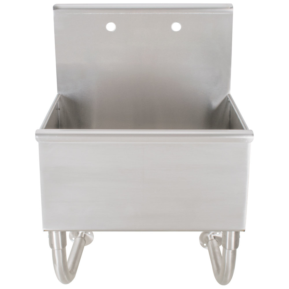 Advance Tabco Wss 16 25 Wall Mounted Utility Sink 22 Quot X