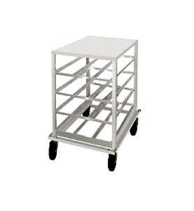 Advance Tabco CRPL10-72 Spec Line #10 Aluminum Can Rack Mobile with Poly Top - Half Size at Sears.com