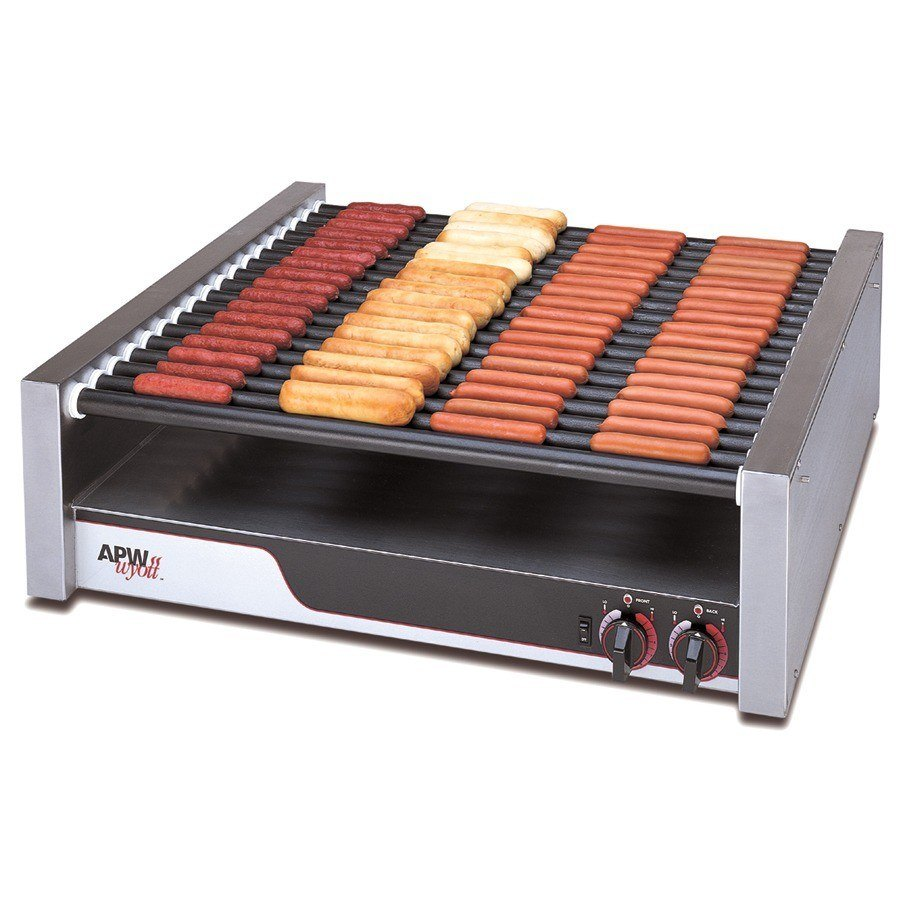 APW Wyott HRS-85 X*Pert Flat Top Hot Dog Roller Grill with Tru-Turn Surface Rollers - 208/240V, 2017/2640W at Sears.com
