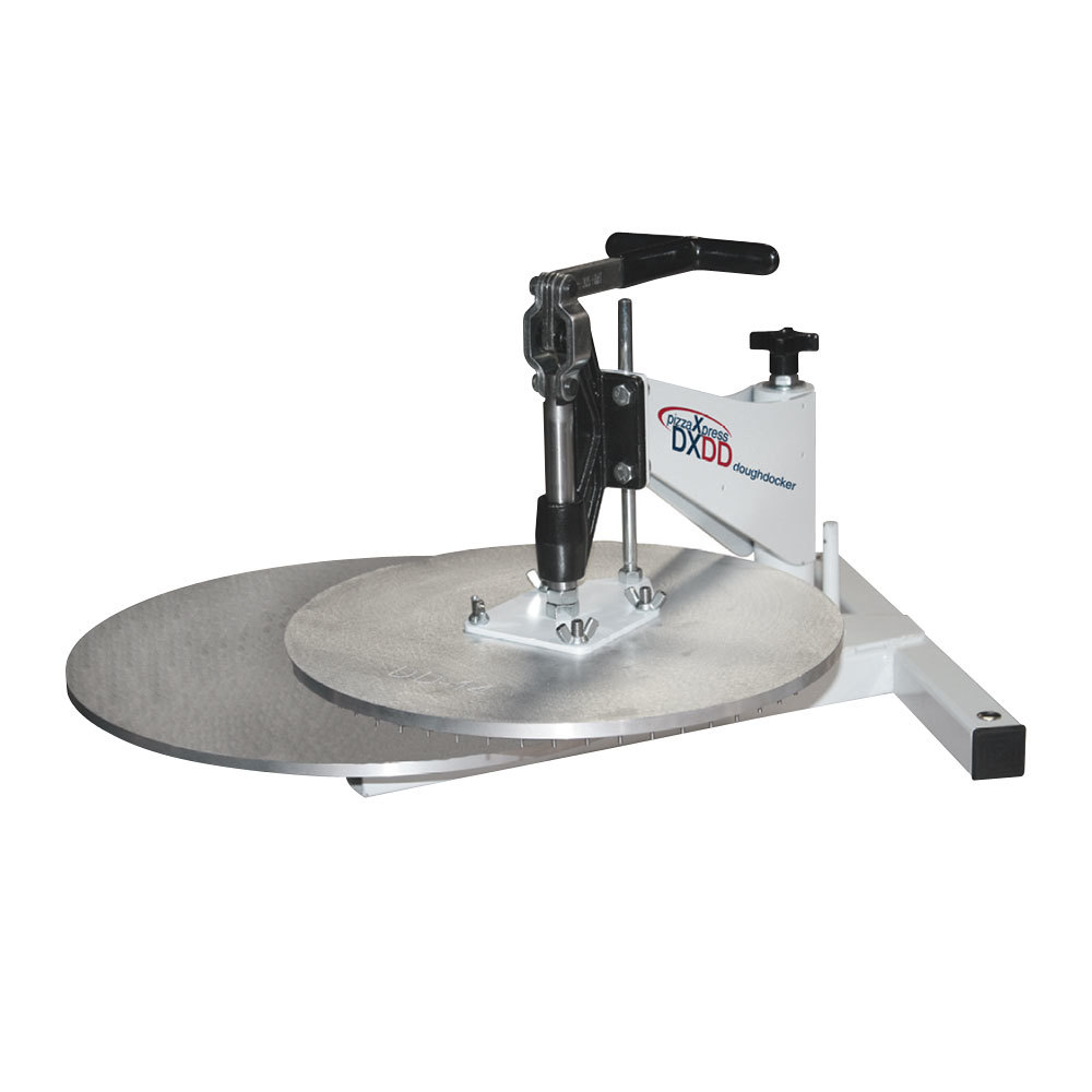 DoughXpress DXDD-12 Dough Docking Press with 12 inch Platen