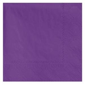 Hoffmaster 180339 Purple Beverage / Cocktail Napkin - 1000 / Case