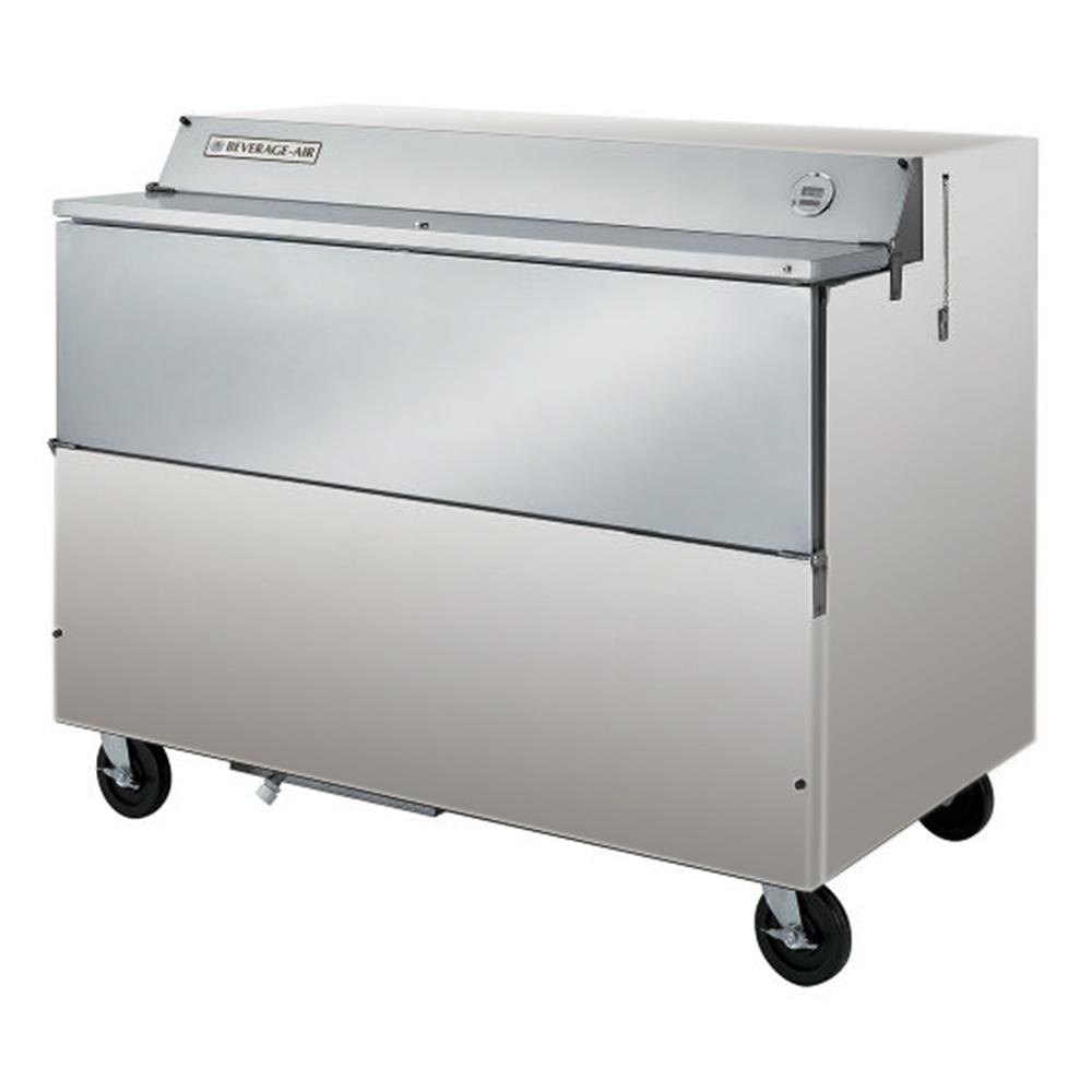 Beverage Air (Bev Air) SMF58-S Stainless Steel Forced Air Milk Cooler 1 Sided - 58 inch