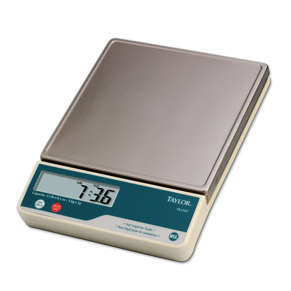 Taylor TE11FT Digital 11 lb. Portion Control Scale