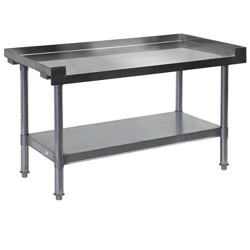 APW Wyott HDS-60L 60 inch x 30 inch Heavy Duty Cookline Equipment Stand with Galvanized Undershelf