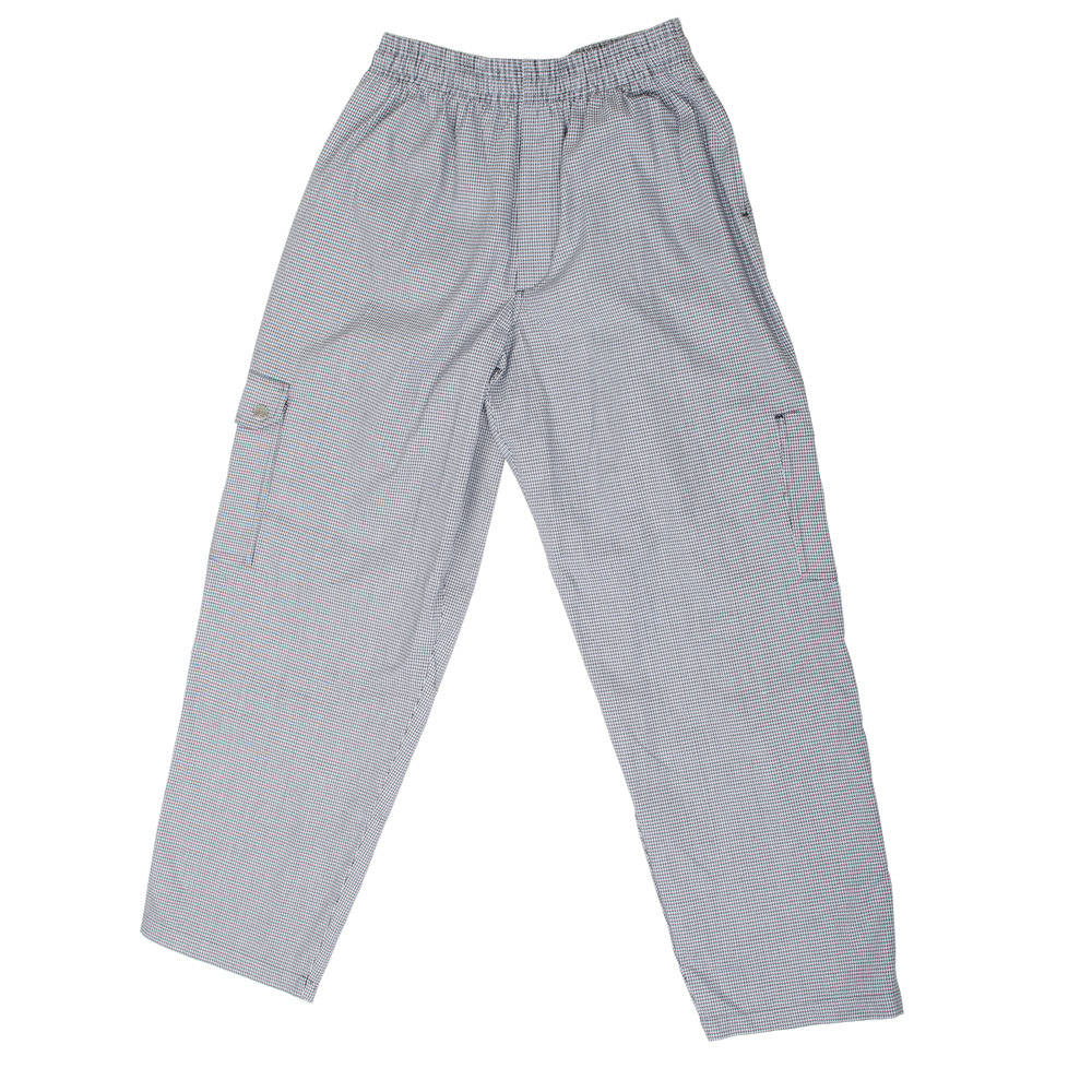 Chef Revival P023HT Size 2X Houndstooth Chef Cargo Pants
