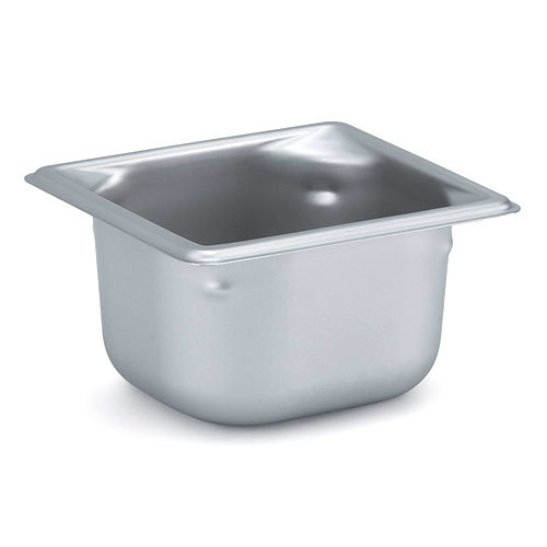 Vollrath 90662 Super Pan 3 Stainless Steel 1/6 Size Anti-Jam Steam Table Pan - 6 inch Deep