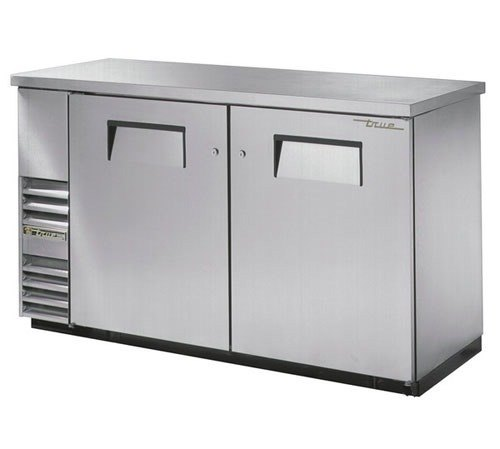"True Refrigeration True TBB-24-60-S 61"" Back Bar Cooler Stainless Steel with Solid Doors - 24"" Deep at Sears.com"