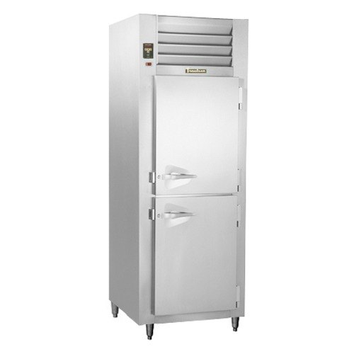 Traulsen AHT132NUT-HHS 21.9 Cu. Ft. One Section Half Door Narrow Reach In Refrigerator - Specification Line