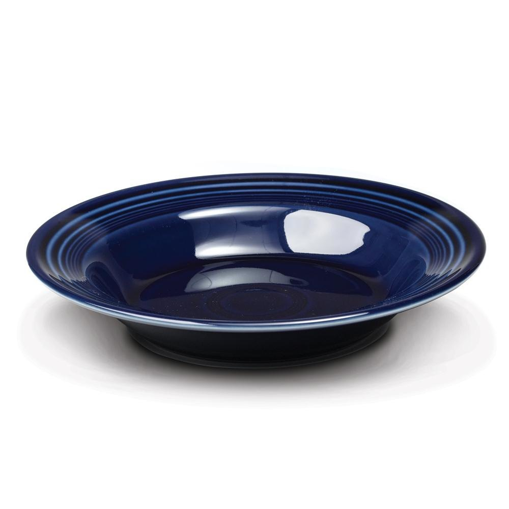 Homer Laughlin 451105 Fiesta Cobalt Blue 13.25 oz. Rim Soup Bowl - 12 / Case