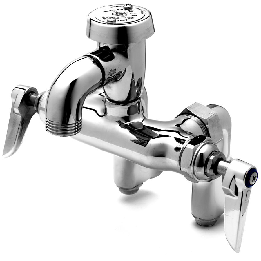 Mop Sink Faucet : 0669-POL Service Sink Faucet with Integral Stops, Atmospheric ...