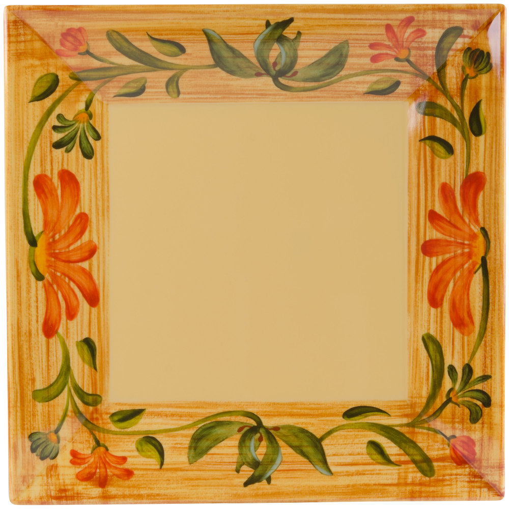 get ml90vn 12 inch x 12 inch square venetian plate