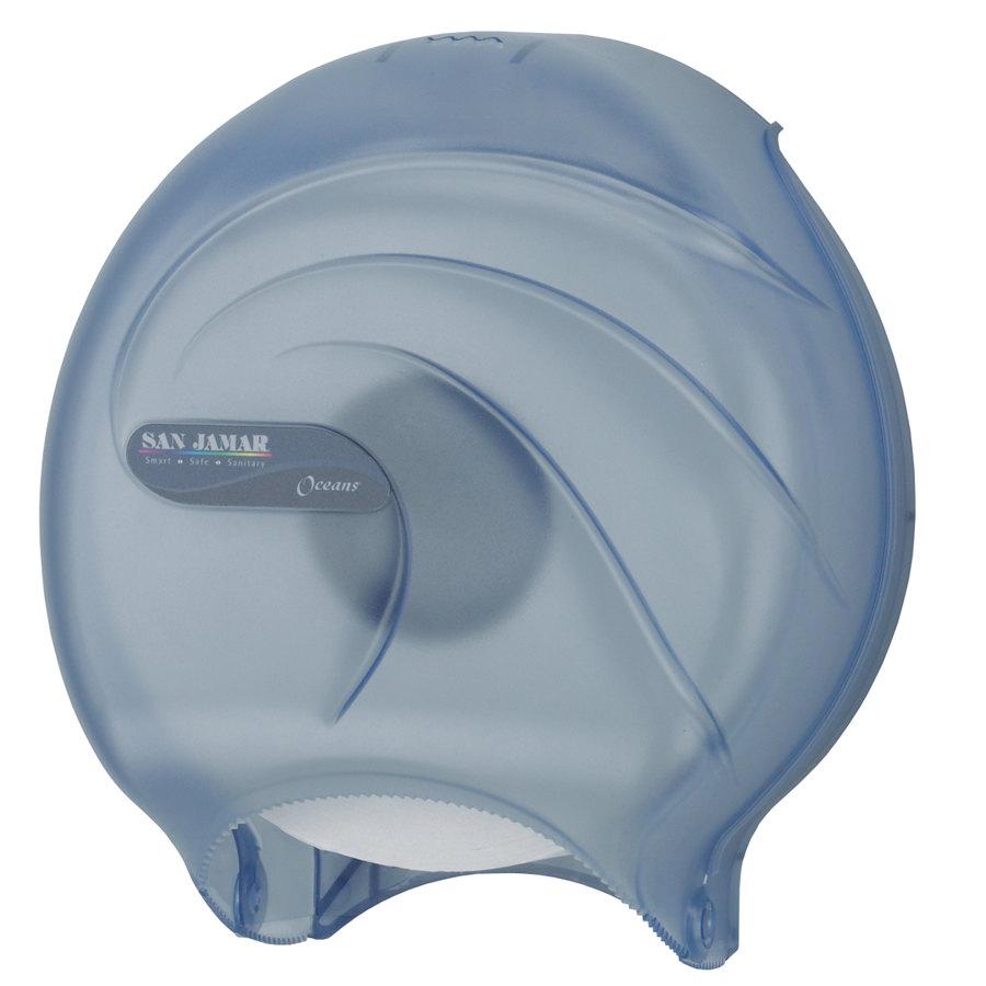 San Jamar R2090tbl Oceans 9 Quot Single Roll Jumbo Toilet