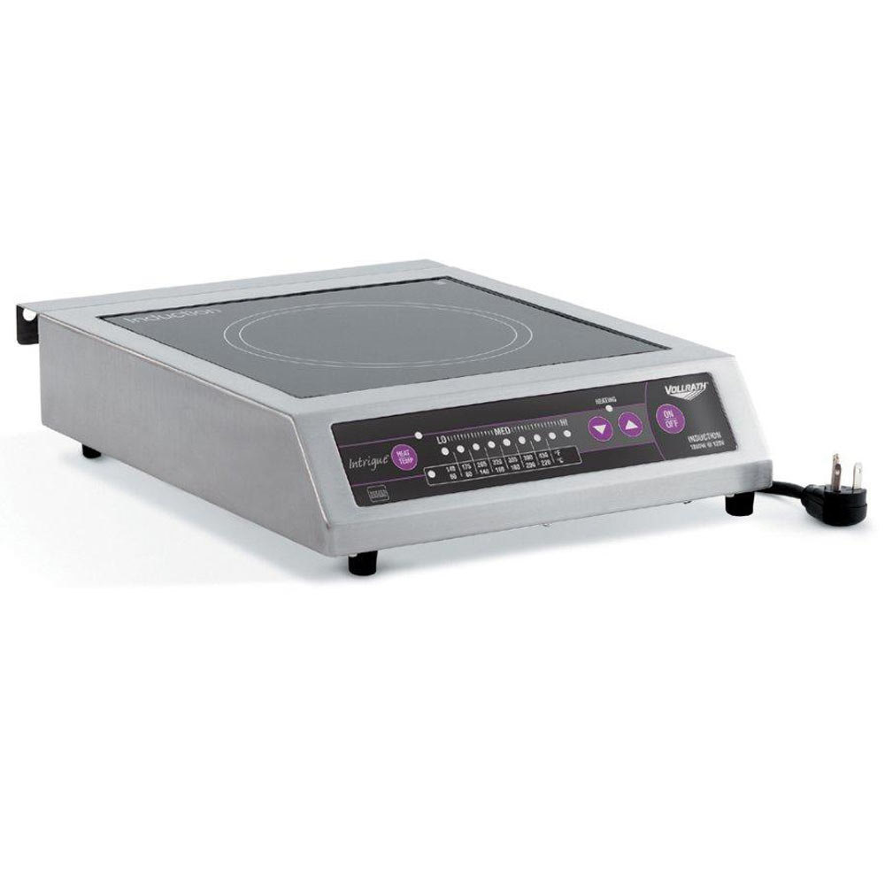 Vollrath Commercial Series 6950020 Countertop Induction Cooker 1800 Watt - 120V