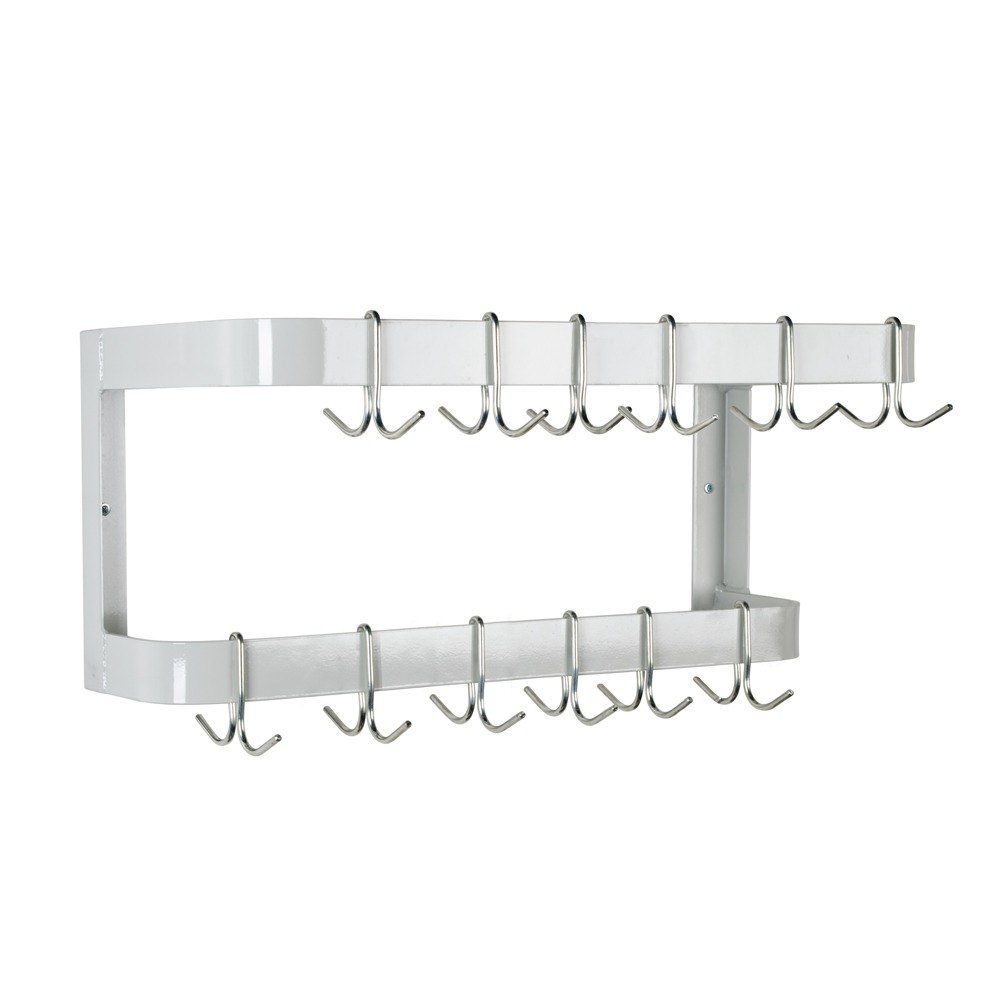 Advance Tabco GW-48 Wall Mounted Pot Rack with 12 Hooks - 48""