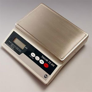 Taylor TE10R 10lb Digital Portion Control Scale with Hold Feature
