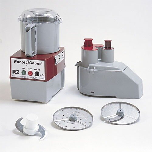 Robot Coupe R2N Continuous Feed 3 Qt. Combination Food Processor - 120V