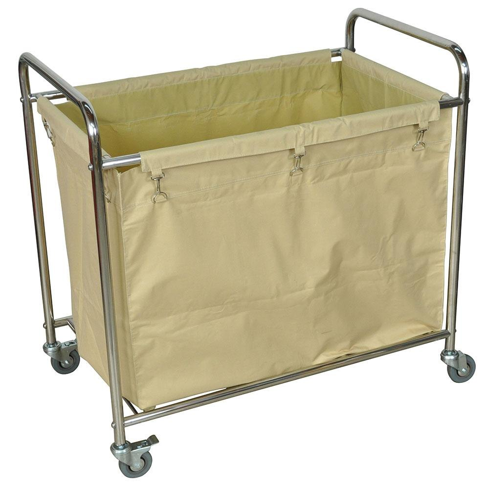 Commercial laundry carts on wheels pictures to pin on pinterest pinsdaddy - Laundry hamper wheels ...