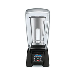 Waring MX1500XTS 3.5 HP Commercial Blender with Programmable Keypad & LCD Screen, Adjustable Speed, 64 oz. Stainless Steel Container & Sound Enclosure